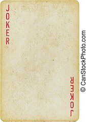 playing card - Background, object: Playing Card: Joker