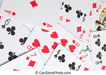 playing cards (background)