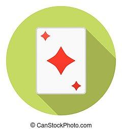 Playing Cards Diamonds Suit