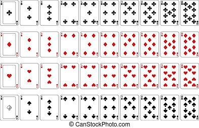 Playing Cards Number Cards and Aces