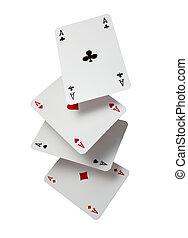 playing cards poker gamble game leisure