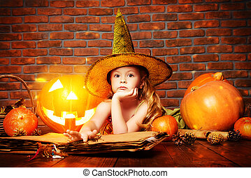 playing in a witch