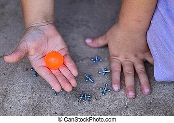 Playing Jacks