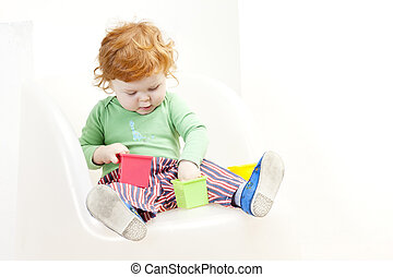 playing little boy