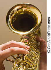Playing the Saxophone - saxophone playing