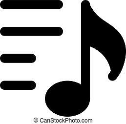 playlist, musica