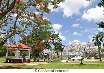 Plaza de Espana in Guam