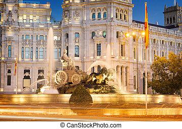 Plaza de la Cibeles Madrid - Plaza de la Cibeles (Cybele's...