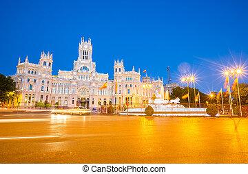 Plaza de la Cibeles Madrid Spain