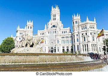 plaza de la cibeles, madrid