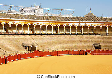 Plaza de Toros in Seville - Plaza de toros de la Real...
