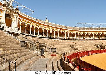 Plaza de Toros in Seville, Spain - Plaza de toros de la Real...