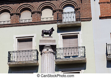 Plaza del Torico, Teruel, Aragon, Spain