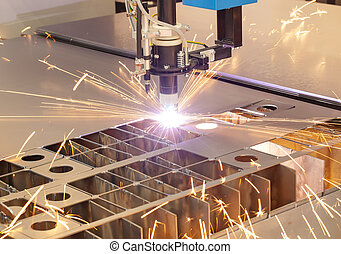 plazma, výstřižek, kovodelná práce, píle, stroj