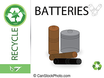 Please recycle batteries