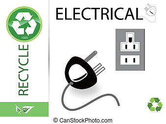 Please recycle electrical