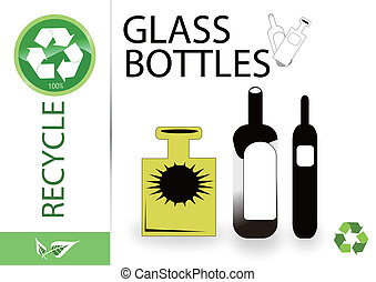 Please recycle glass and bottles
