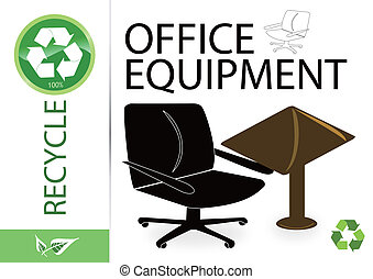 Please recycle office equipment