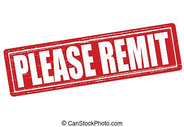 Please remit