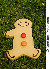 Pleased to be different - This gingerbread man is pleased to...
