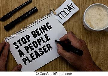 pleaser., mensen, wezen, foto, meldingsbord, desk., willen, teken, bosrijk, wat, spullen, pen, geschreven, anderen, black , paperclip, tekst, conceptueel, u, koffie, notepad, het tonen, stoppen, hand, niet, houden, zoals, reserveren