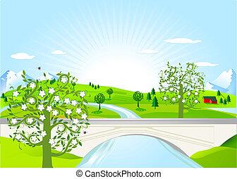pleasing landscape