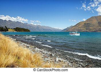 Lake Wanaka, Otago region of New Zealand