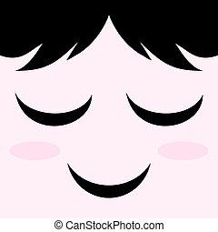 pleasure face - creative design of pleasure face
