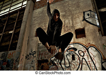 Pleasure of a jump