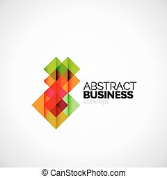 plein, concept, bedrijf, logo, ontwerpen basis