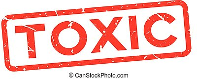 plein, woord, postzegel, rubber, achtergrond, zeehondje, vergiftig, grunge, wit rood