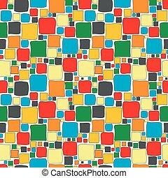 pleinen, seamless, kleurrijke