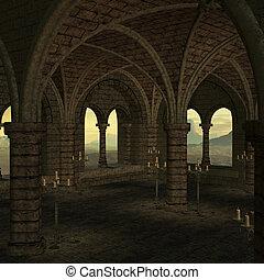 plek, middeleeuws