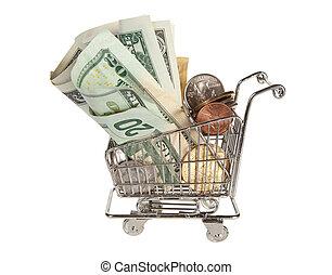 Plenty of dollars for shopping