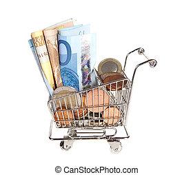 Plenty of money for shopping