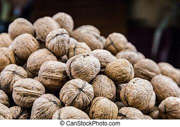 Plenty of walnuts.