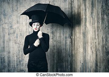pleuvoir, sien