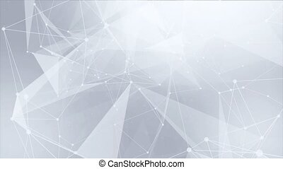 Plexus Abstract Technology And Engineering Organic loop background