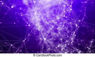 """plexus, abstratos, network"""", fantasia, através, """"flying"""