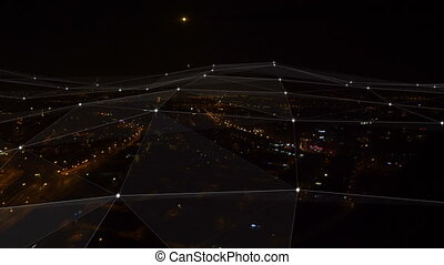 Plexus. Aerial view.