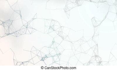 plexus digital numbers - Beautiful 3D animation plexus of...