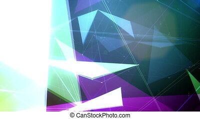 """Plexus of Broken Surfaces Spinning in Cosmos"" - ""A..."
