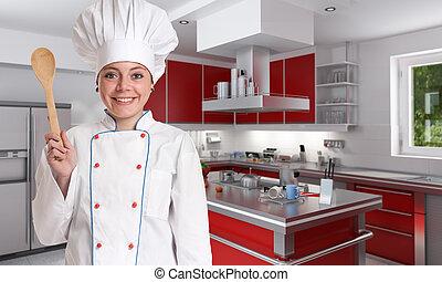 plezier, het koken