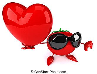 plezier, tomaat