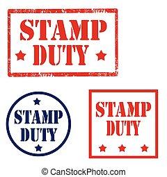 plicht, postzegel