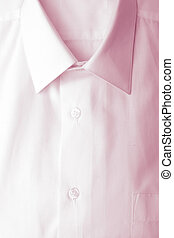 pliegue, mangas, camisa, largo