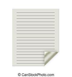 pliegue, resumen, papel