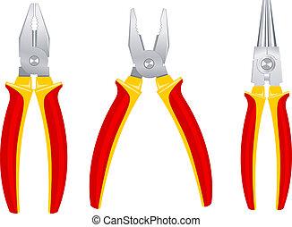 Pliers tools set