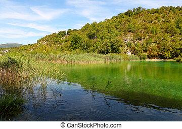 plitvice, 克羅地亞, 湖