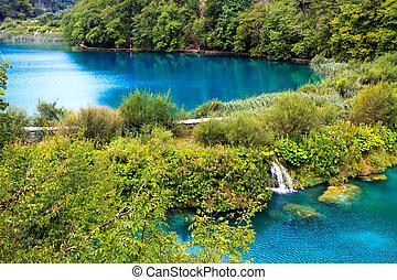 plitvice, 國家公園, 湖